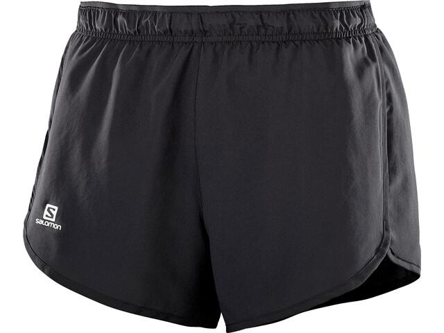 Salomon Agile Shorts Damer, sort